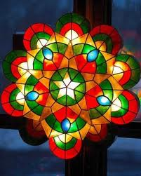 filipino christmas of purple puto and parols star shaped lanterns creating kaleidoscopes of colour of thrilling church music and delicious noche buona - Filipino Christmas Star