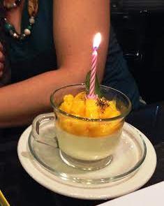 panacotta cake