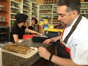 Chef Philip at Brera